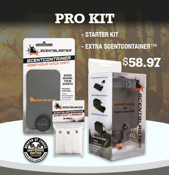 ScentBlaster Pro Kit, ScentBlaster, ScentBlasterWick 6-pack, ScentContainer™